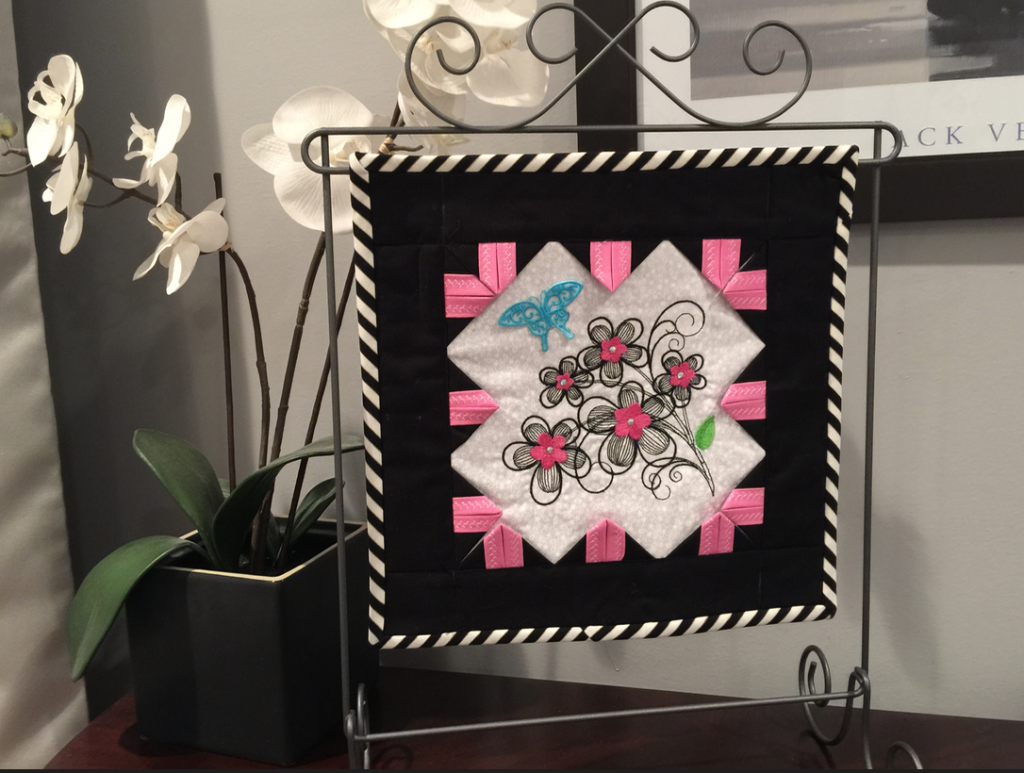 Product: Online Class-Black, White and Pink