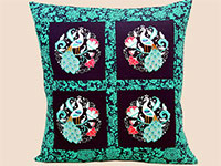 Product: Online Class-Peacock Pillow