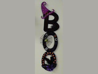 Product: Boo Wall Decoration