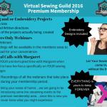 2016 Virtual Sewing Guild Premium Membership