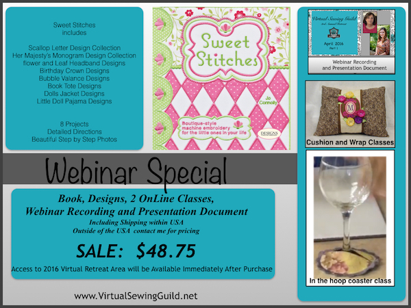 Product Virtual Retreat 2016 Part 1 Sweet Stitches Super Special