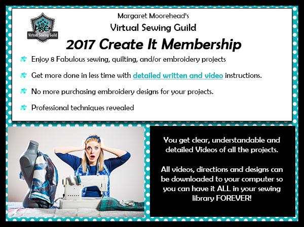 2017 Create It Membership