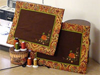Product: Online Class-Fall Placemats