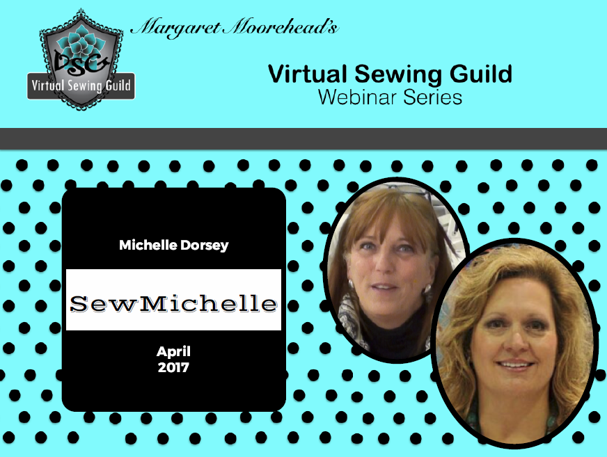 Product: Webinar Recording, SewMichelle