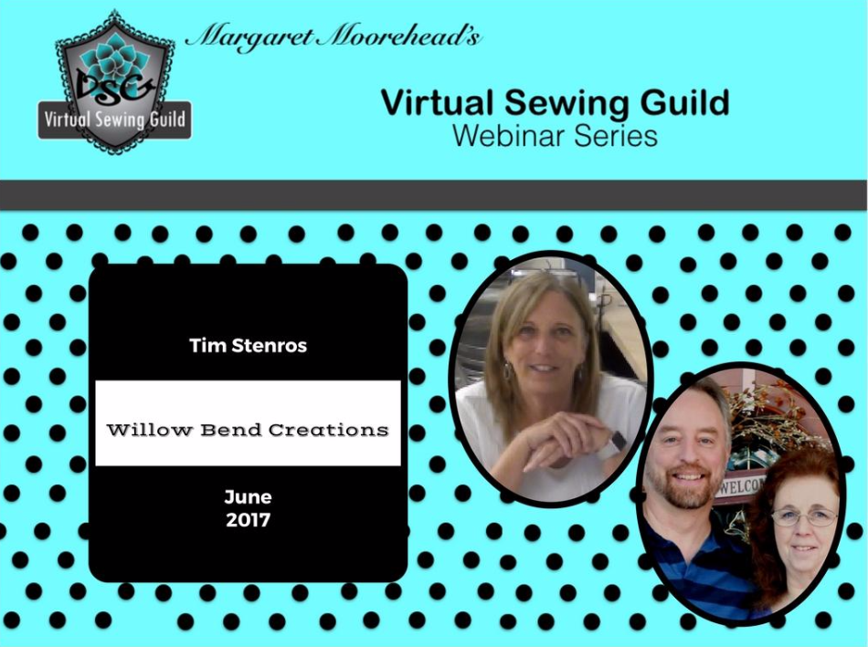 Product: Webinar Recording, Willow Bend Creations