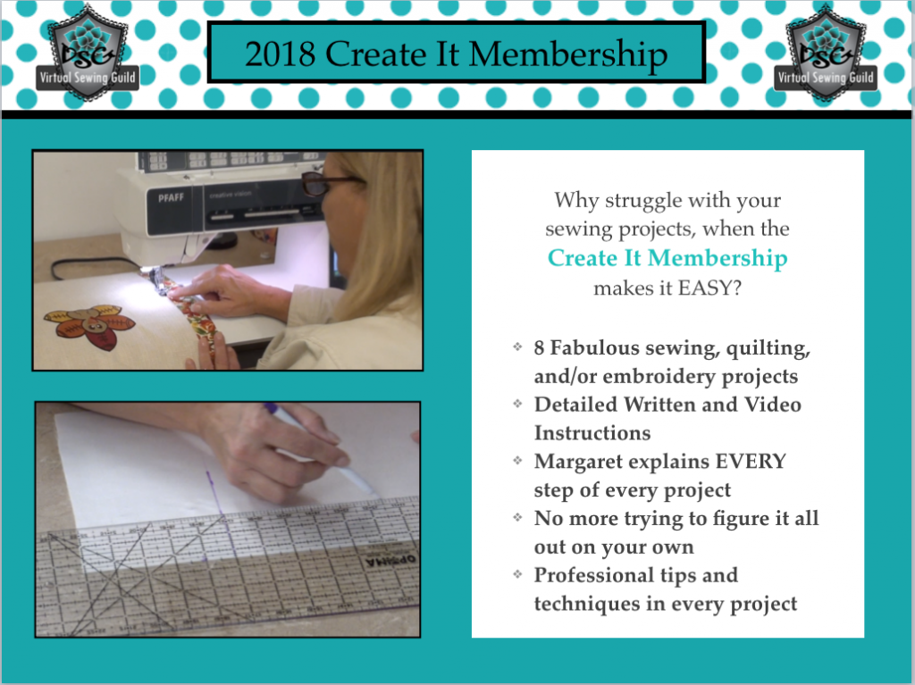 2018 Create It Membership