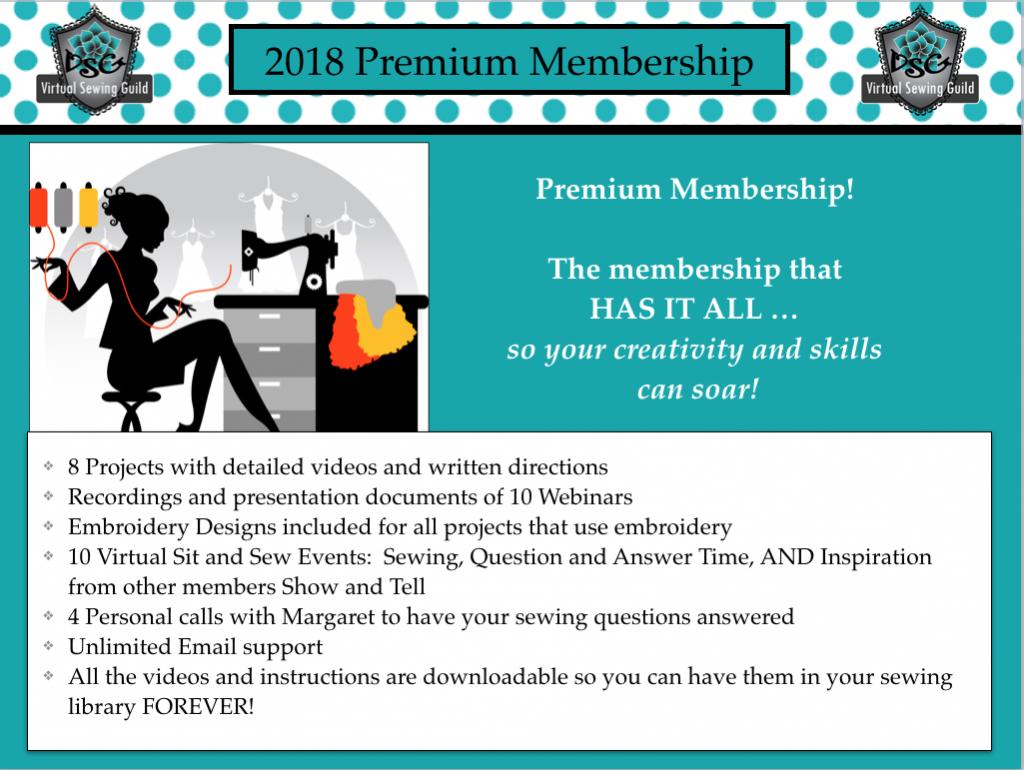 2018 Premium Membership