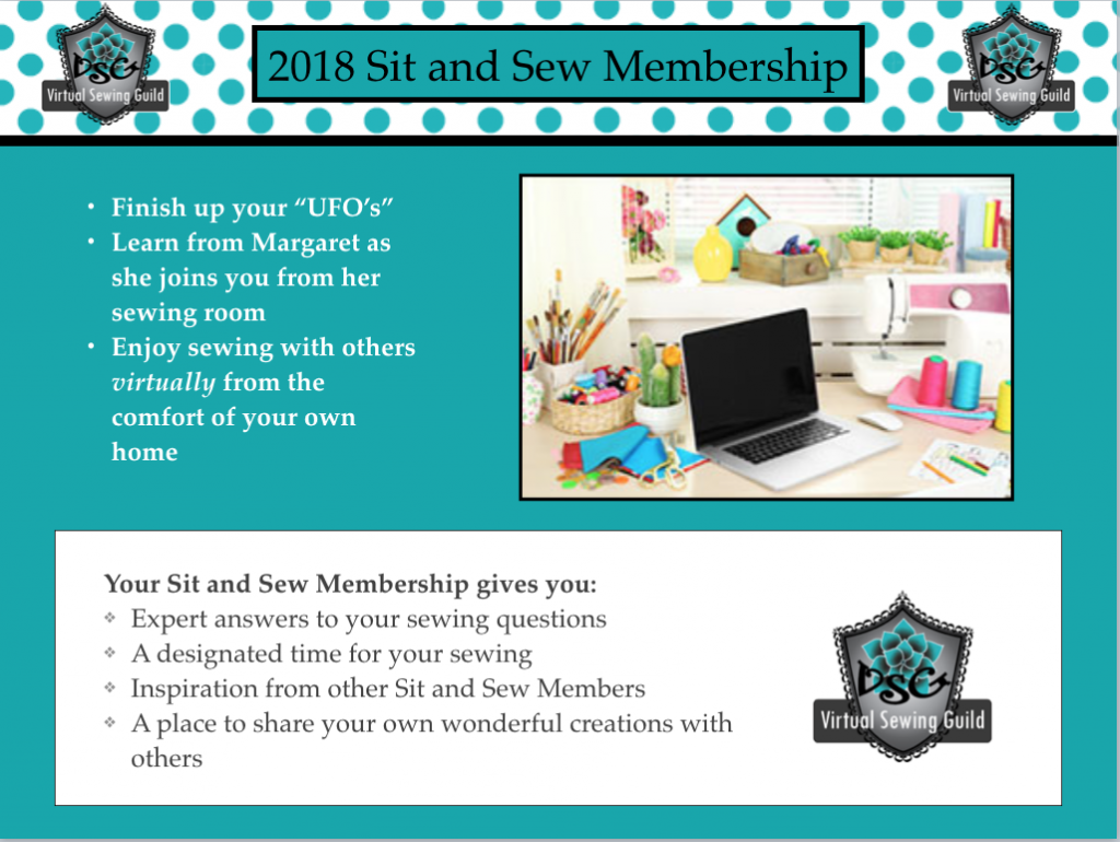 2018 Virtual Sit and Sew Membership