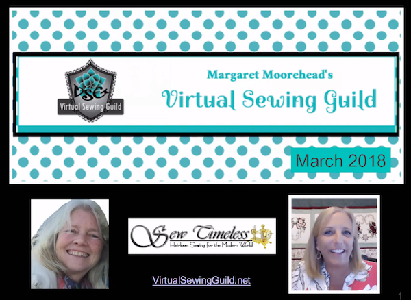 Product: Webinar Recording, Kandi Christian of Sew Timeless
