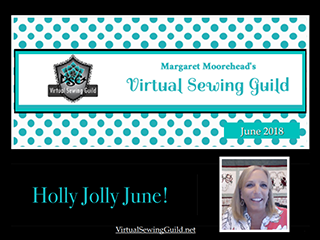 Product: Webinar Recording, Margaret Moorehead Holly Jolly June 2018
